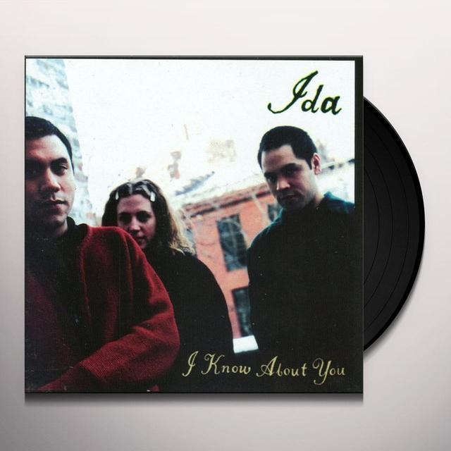 Ida I KNOW ABOUT YOU Vinyl Record - 180 Gram Pressing