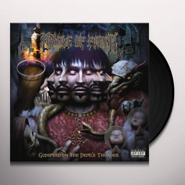 Cradle Of Filth GODSPEED ON THE DEVILS THUNDER Vinyl Record