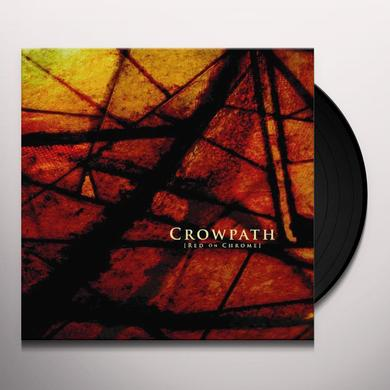 Crowpath RED ON CHROME Vinyl Record