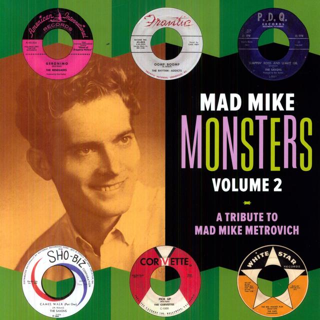 MAD MIKE MONSTERS 2 / VARIOUS Vinyl Record