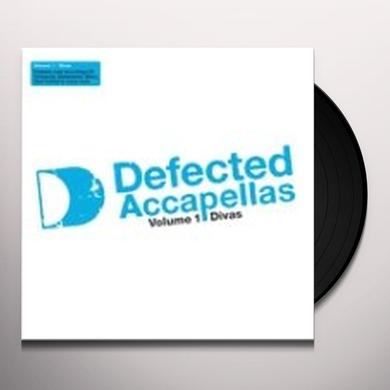DEFECTED ACCAPELLAS 1 / VARIOUS Vinyl Record - UK Import