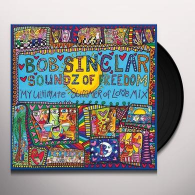 Bob Sinclar SOUNDZ OF FREEDOM ULTIMATE SUMMER OF LOVE 2 Vinyl Record - UK Import