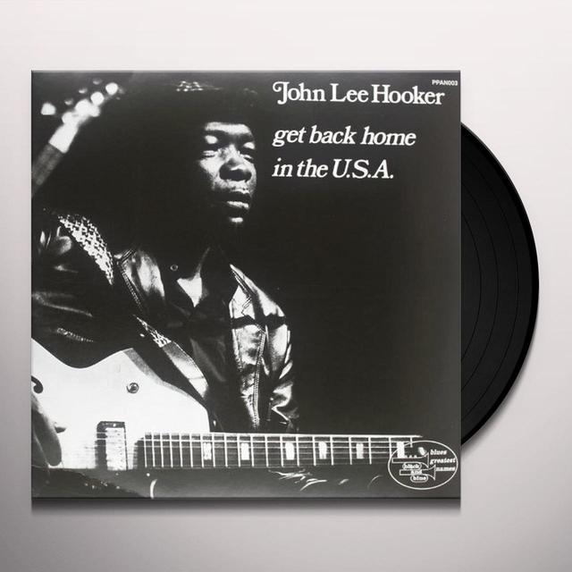 John Lee Hooker GET BACK HOME IN THE USA Vinyl Record