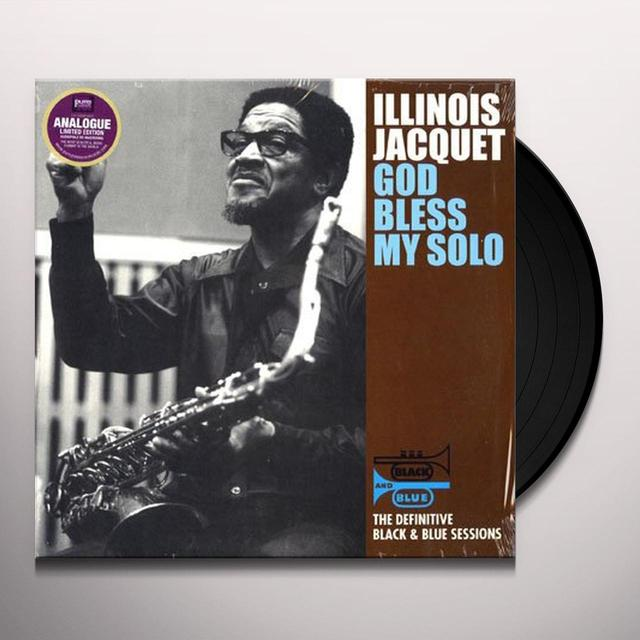 Illinois Jacquet GOD BLESS MY SOLO Vinyl Record - 180 Gram Pressing