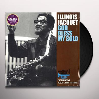 Illinois Jacquet GOD BLESS MY SOLO Vinyl Record