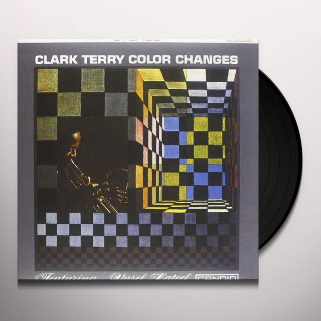Clark Terry COLOR CHANGES Vinyl Record - 180 Gram Pressing