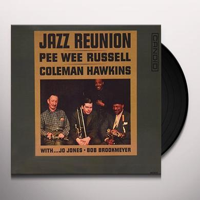 Pee Wee Russell / Coleman Hawkins JAZZ REUNION Vinyl Record