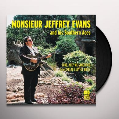 Jeffery Evans & Southern Aces LORD KEEP ME SANCTIFIED / SPREAD A JOYFUL NOISE Vinyl Record