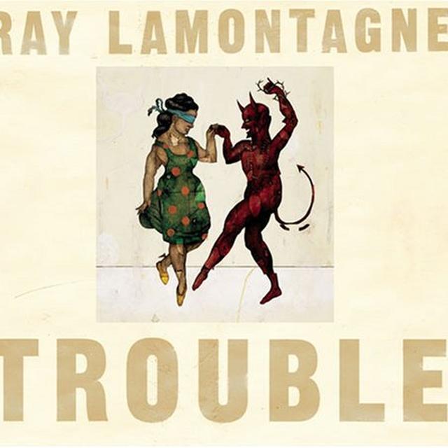 Ray Lamontagne TROUBLE Vinyl Record
