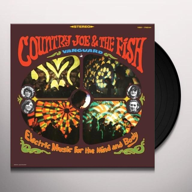 Country Joe & The Fish ELECTRIC MUSIC FOR THE MIND & BODY Vinyl Record - 180 Gram Pressing
