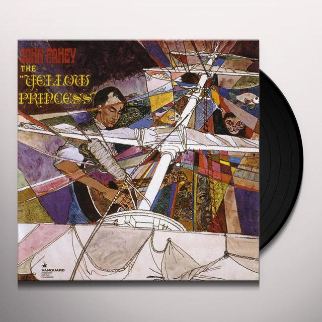 John Fahey YELLOW PRINCESS Vinyl Record