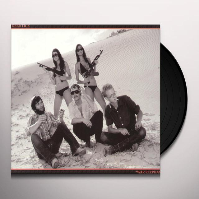 Deer Tick WAR ELEPHANT Vinyl Record - Limited Edition, Digital Download Included