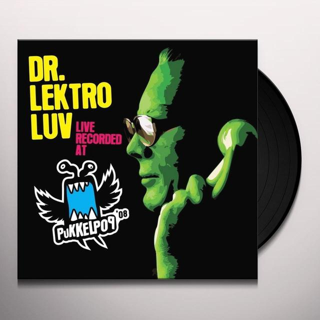 Dr Lektroluv LIVE RECORDED AT PUKKELPOP 08 Vinyl Record