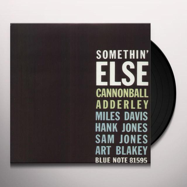 Cannonball Adderley SOMETHIN ELSE Vinyl Record - w/CD, Reissue, Remastered