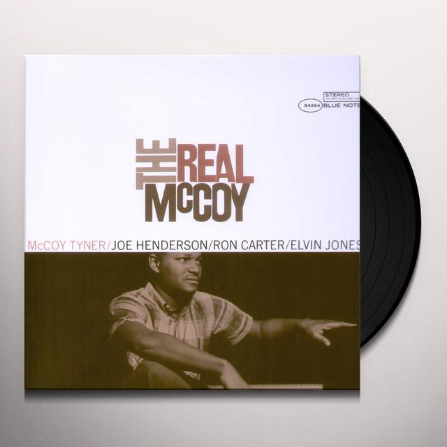 Mccoy Tyner REAL MCCOY (BONUS CD) Vinyl Record