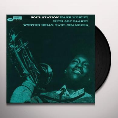 Hank Mobley SOUL STATION (BONUS CD) Vinyl Record