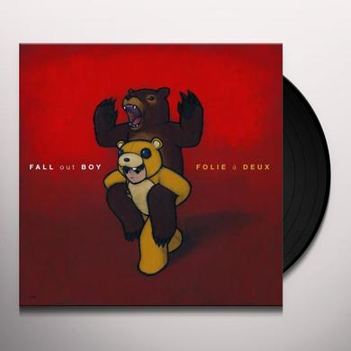 Fall Out Boy FOLIE A DEUX Vinyl Record