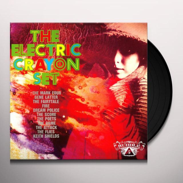 Electric Crayon Set: Rubble 5 / Various (Ltd) ELECTRIC CRAYON SET: RUBBLE 5 / VARIOUS Vinyl Record - Limited Edition