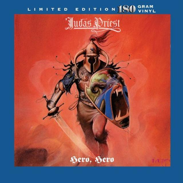 Judas Priest HERO HERO Vinyl Record