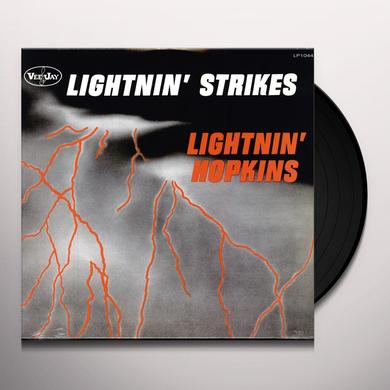 Lightnin' Hopkins on Spotify LIGHTNIN STRIKES Vinyl Record