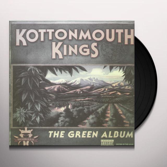 Kottonmouth King GREEN ALBUM Vinyl Record