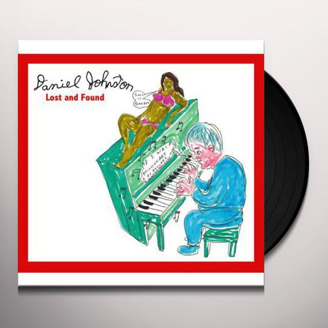 Daniel Johnston LOST & FOUND Vinyl Record