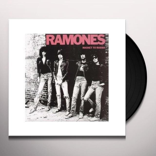 Ramones ROCKET TO RUSSIA Vinyl Record - 180 Gram Pressing