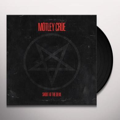 Motley Crue SHOUT AT THE DEVIL Vinyl Record