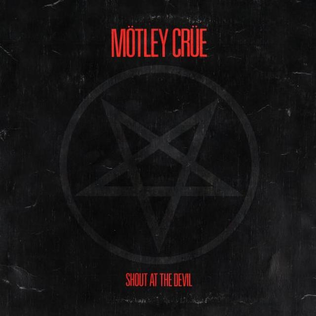 Motley Crue SHOUT AT THE DEVIL Vinyl Record