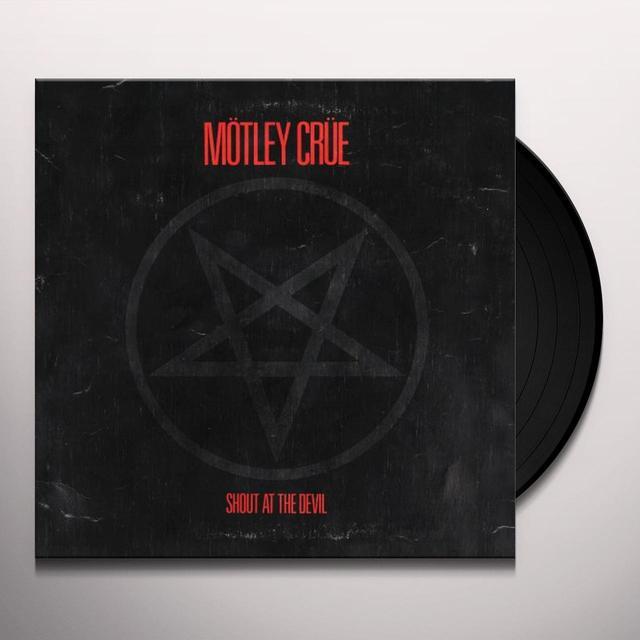 Motley Crue SHOUT AT THE DEVIL Vinyl Record - 180 Gram Pressing, Reissue