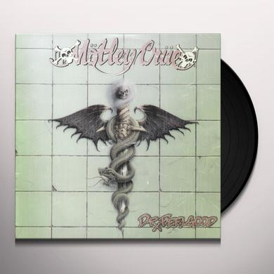 Motley Crue DR FEELGOOD Vinyl Record - 180 Gram Pressing, Reissue