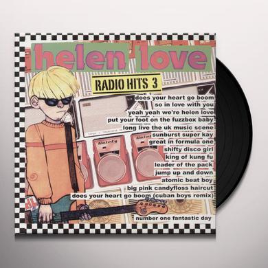 Helen Love RADIO HITS 3 Vinyl Record
