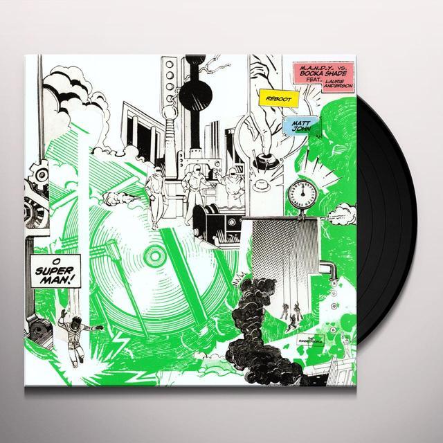 M.A.N.D.Y Vs Booka Shade O SUPERMAN 1 Vinyl Record
