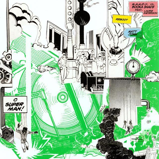 M.A.N.D.Y Vs Booka Shade O SUPERMAN 1 (EP) Vinyl Record
