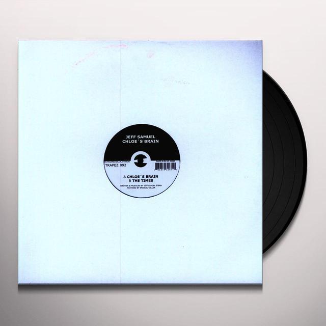 Jeff Samuel CHLOE'S BRAIN Vinyl Record