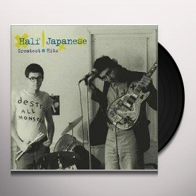 Half Japanese GREATEST HITS Vinyl Record