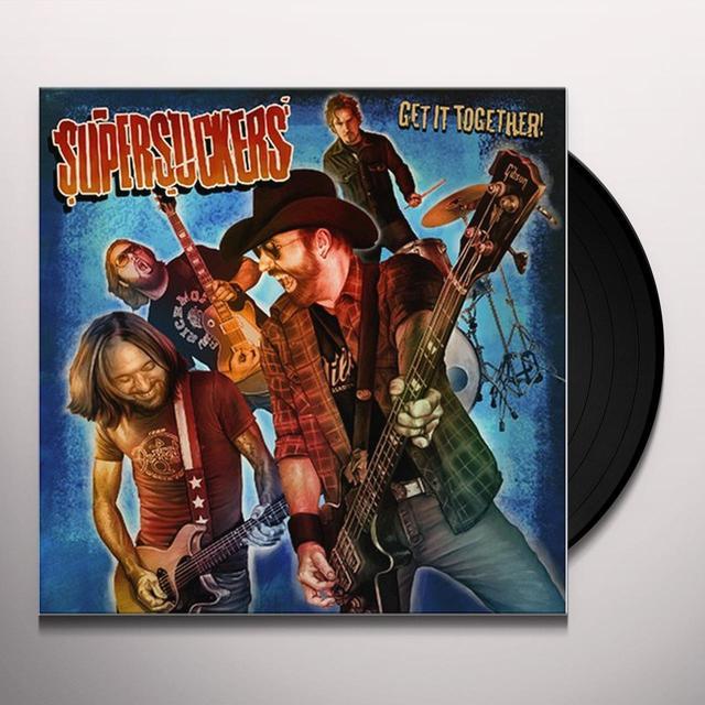 Supersuckers GET IT TOGETHER Vinyl Record - Picture Disc