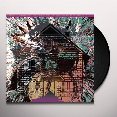 Genghis Tron BOARD UP THE HOUSE REMIXES 4 Vinyl Record - Limited Edition