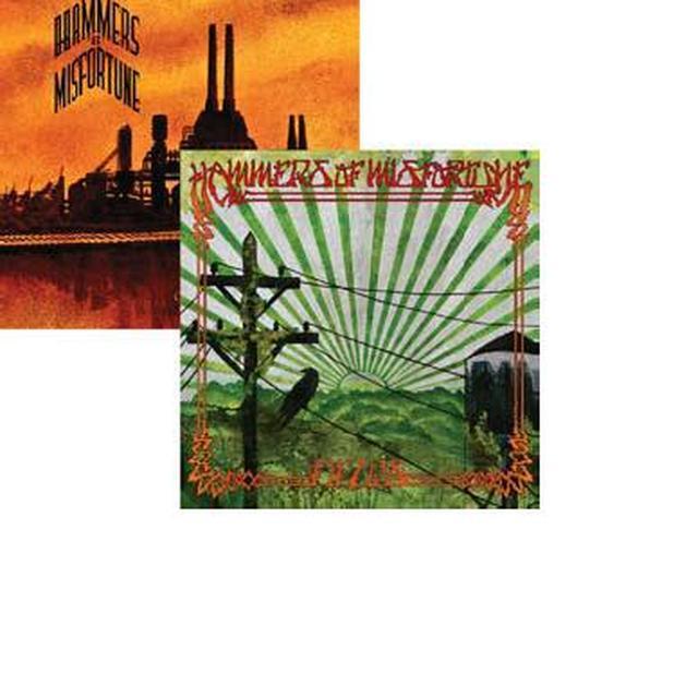 Hammers Of Misfortune FIELDS & CHURCH OF BROKEN GLASS Vinyl Record