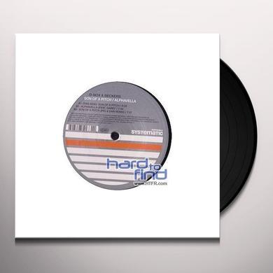 D-Nox / Beckers SON OF A PITCH / ALPHAVELLA Vinyl Record