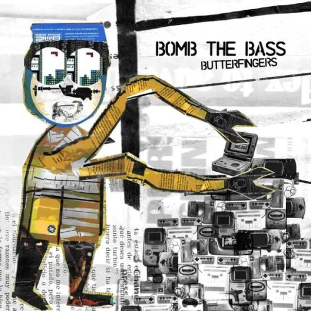 Bomb The Bass BUTTERFINGERS Vinyl Record