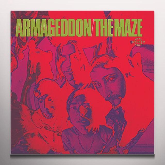 Maze ARMAGEDDON Vinyl Record - Colored Vinyl