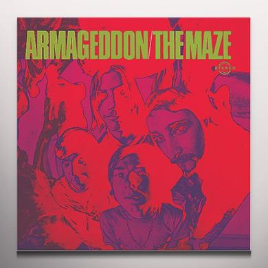 Maze ARMAGEDDON Vinyl Record - Colored Vinyl