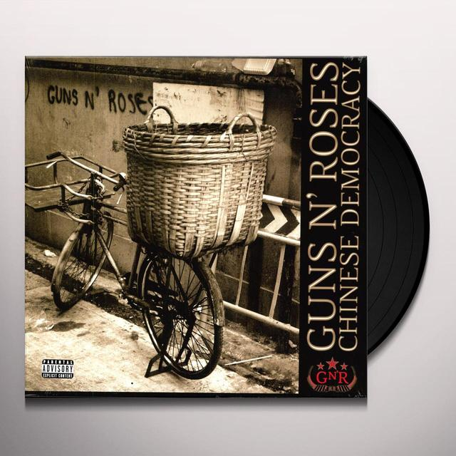 Guns N' Roses CHINESE DEMOCRACY (COVER A) (BB) (Vinyl)