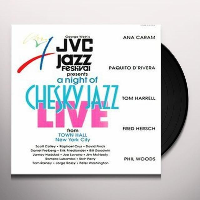 JVC JAZZ FESTIVAL PRESENTS A NIGHT OF / VARIOUS Vinyl Record