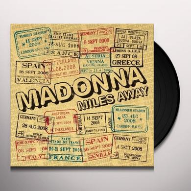 Madonna MILES AWAY (PICTURE DISC) (Vinyl)