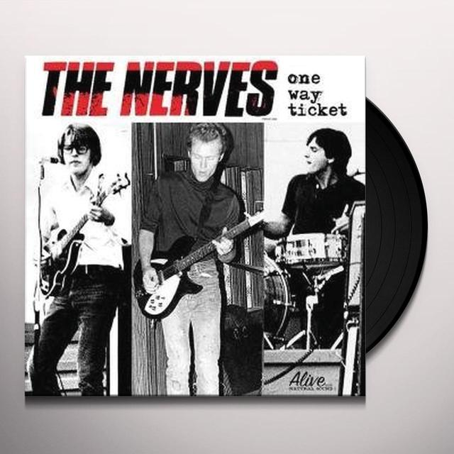 Nerves ONE WAY TICKET Vinyl Record - Limited Edition