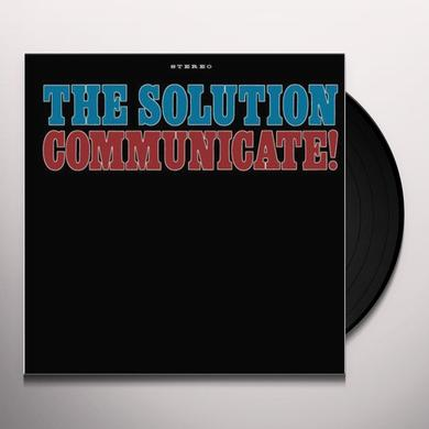 Solution COMMUNICATE Vinyl Record