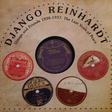 Django Reinhardt LAST YEARS OF PEACE Vinyl Record