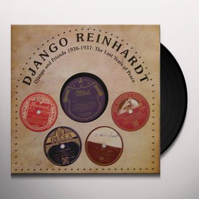 Django Reinhardt LAST YEARS OF PEACE Vinyl Record